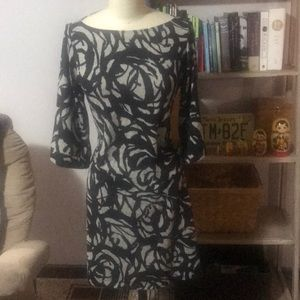 Black and grey print dress!